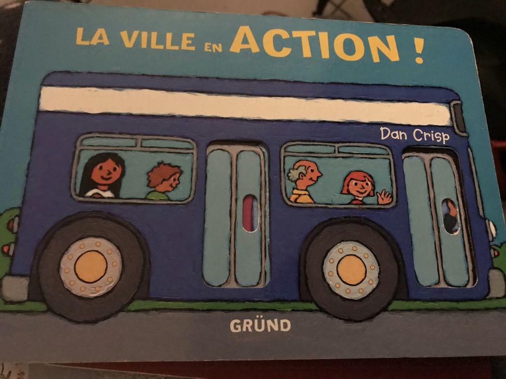 livre cartonne pour bb LA VILLE EN ACTION 4 Saint-Genis-Laval (69)