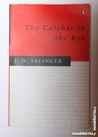 Livre  The Catcher in the Rye  5 Cramont (80)