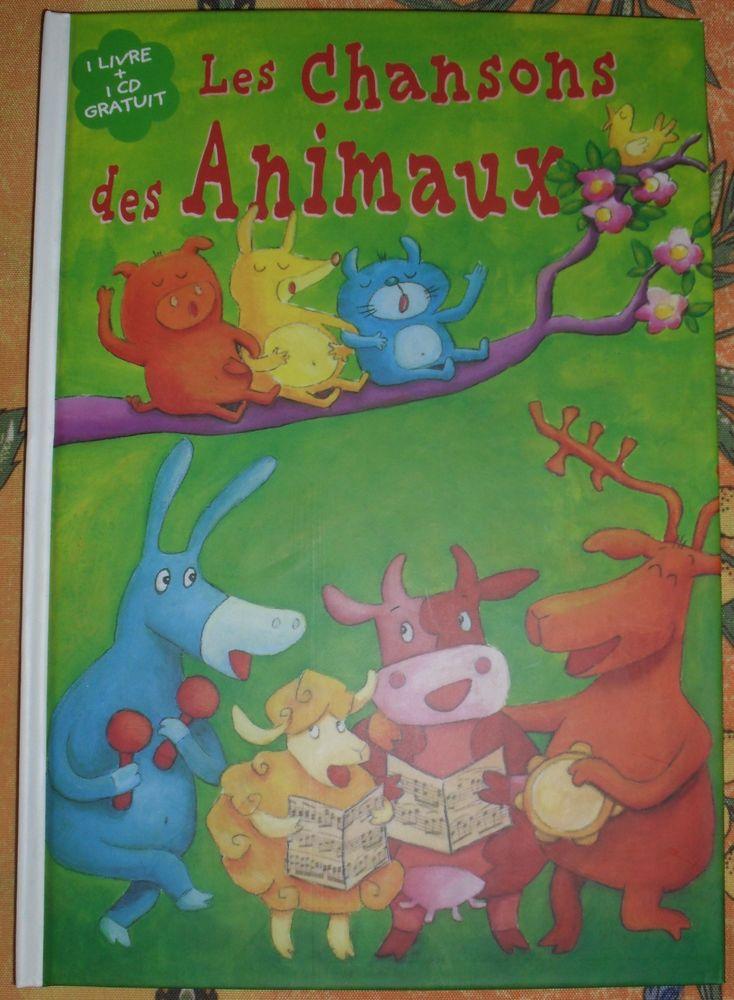 Livre + CD  LES CHANSONS DES ANIMAUX Gens de Lorraine 12 Montreuil (93)