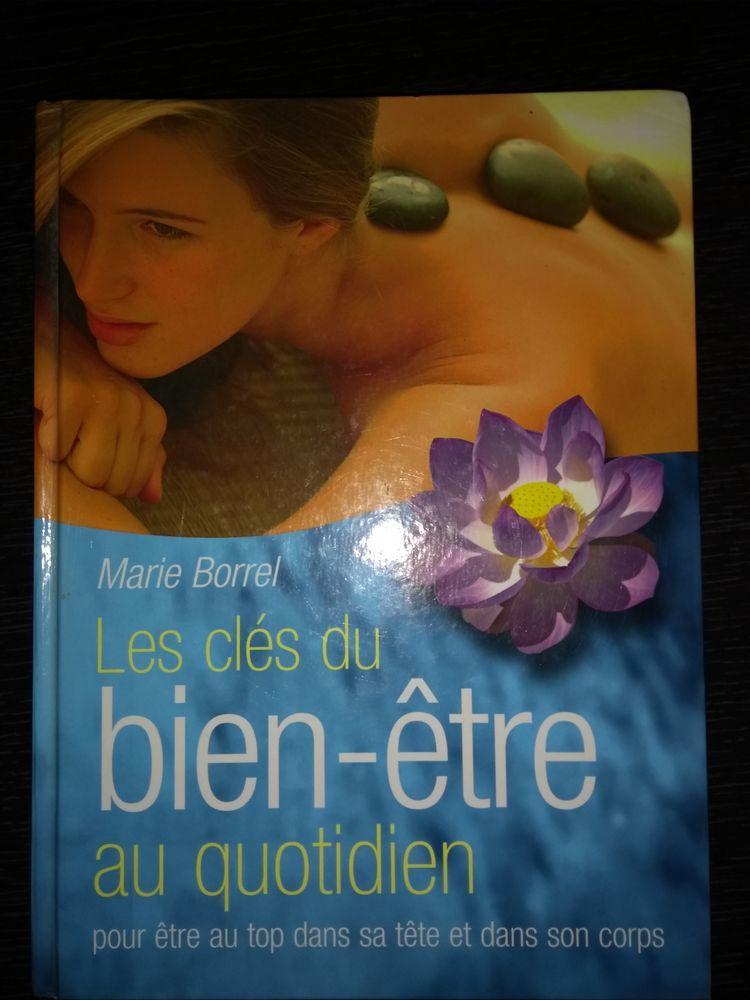 livre  les clés du bien-être  de Marie Borrel 15 La Mulatière (69)