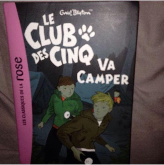 livre le club des cinq va camper 3 Valmondois (95)