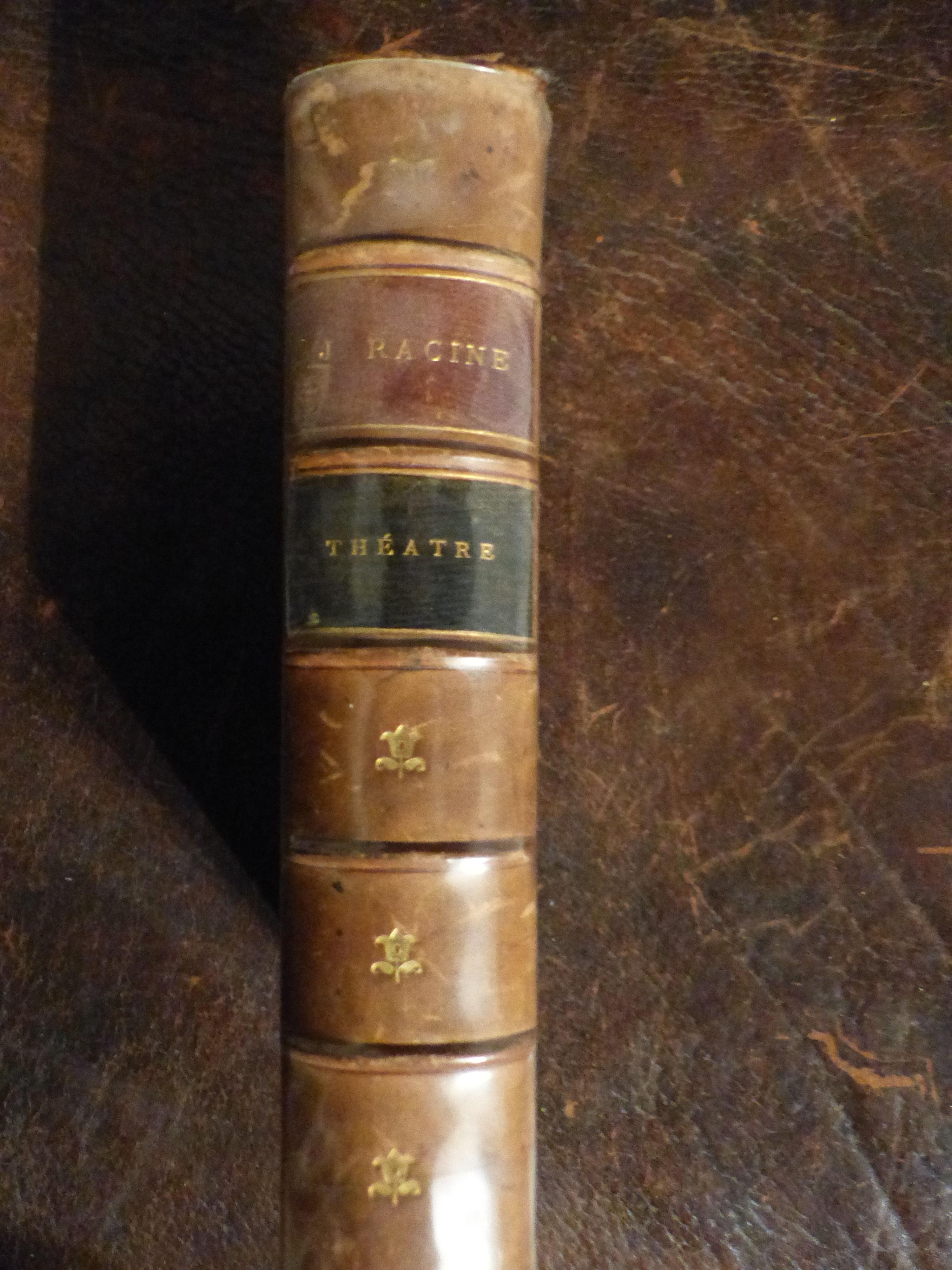 livre de collection J. RACINE Livres et BD