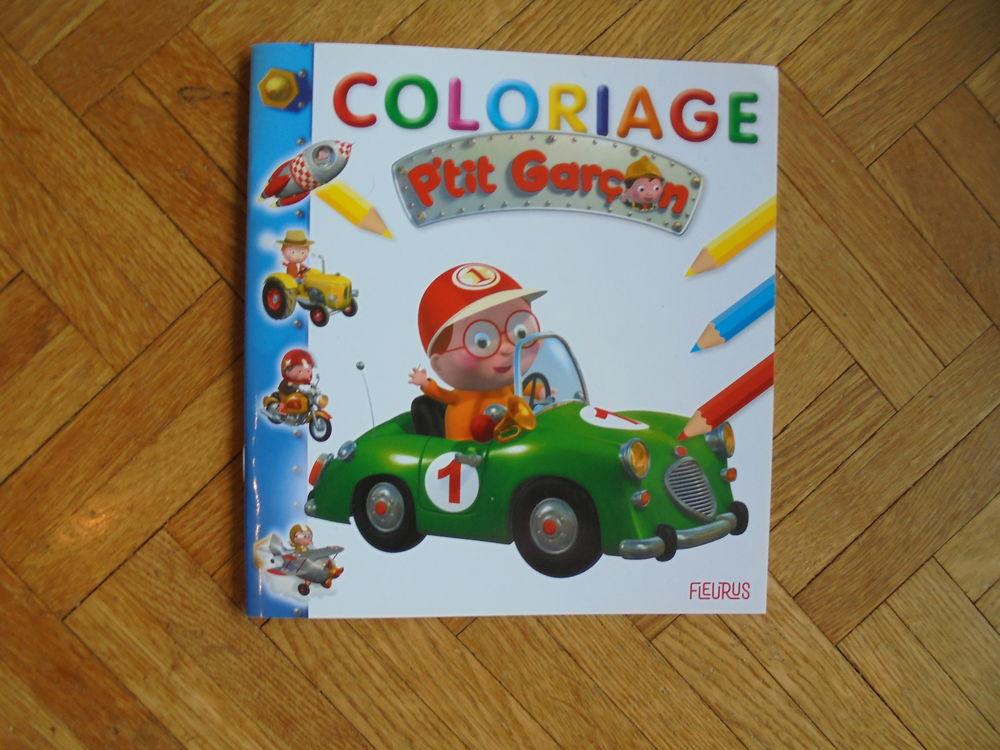 Livre de coloriage P'tit garçon (98) 1 Tours (37)