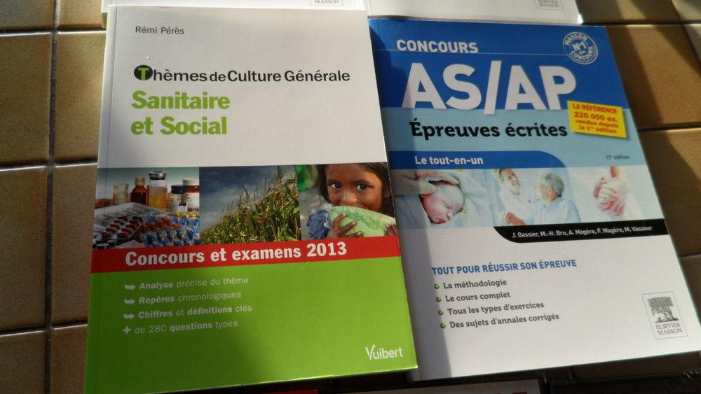 Livre concours Aide soignant Auxiliaire puériculture AS/AP 8 Vaison-la-Romaine (84)