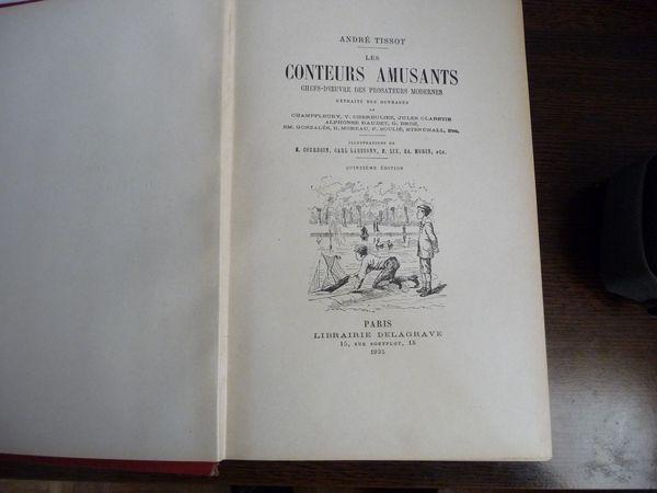 Livre les conteurs amusants 1935 25 Pontault-Combault (77)