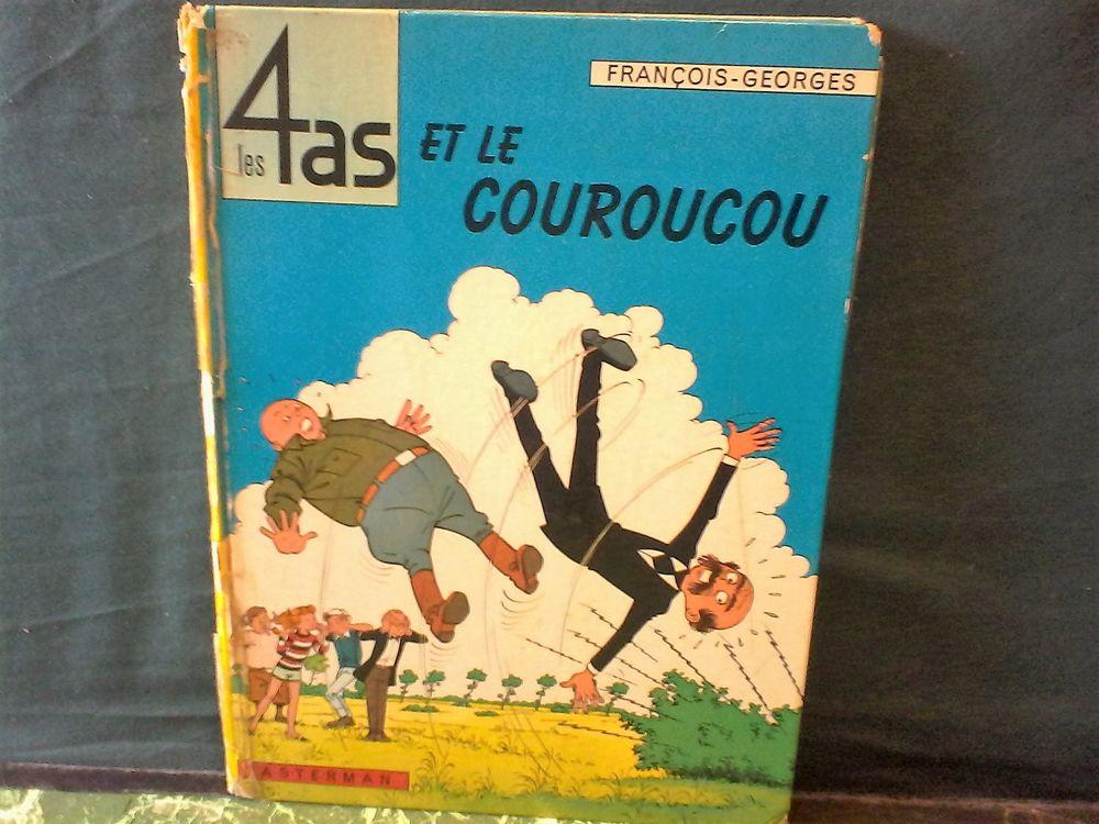 1 Livre B D Les 4 As Et Le Couroucou 1966