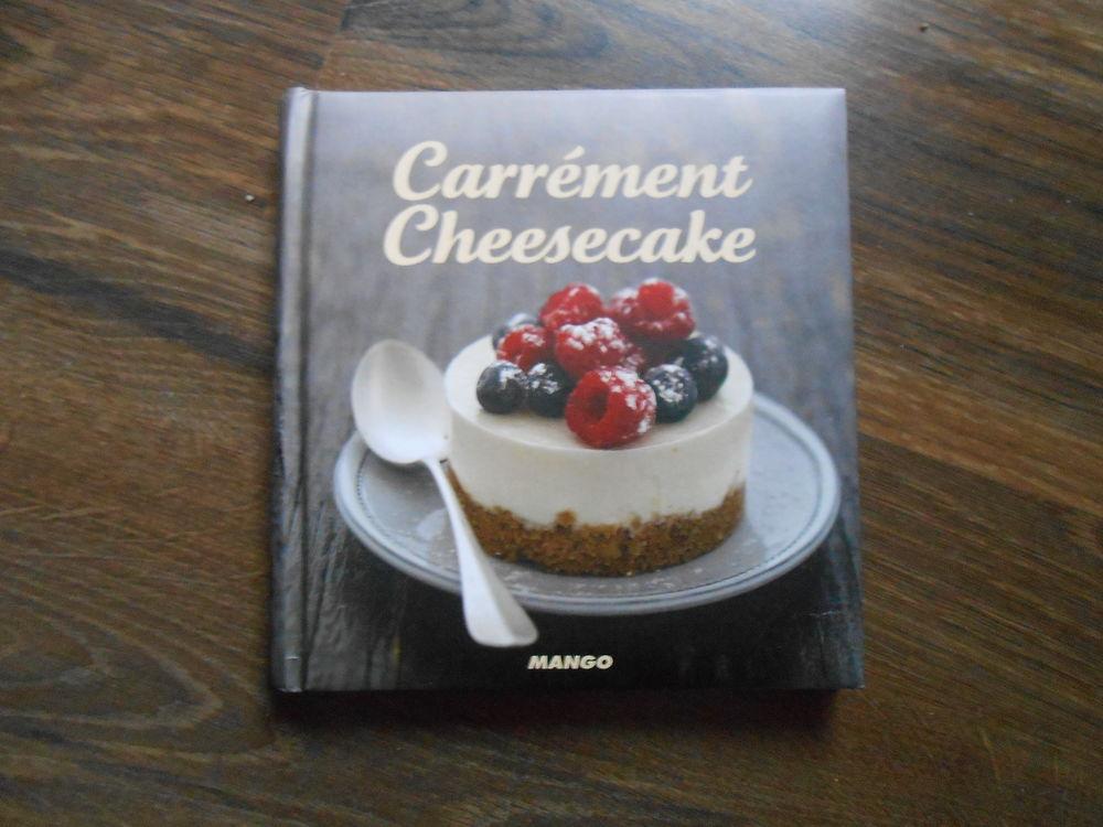 Livre de cuisine Carrément Cheesecake Carré frais TBE 2 Aurillac (15)
