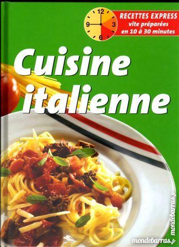 Livre : La cuisine italienne 9 Laon (02)