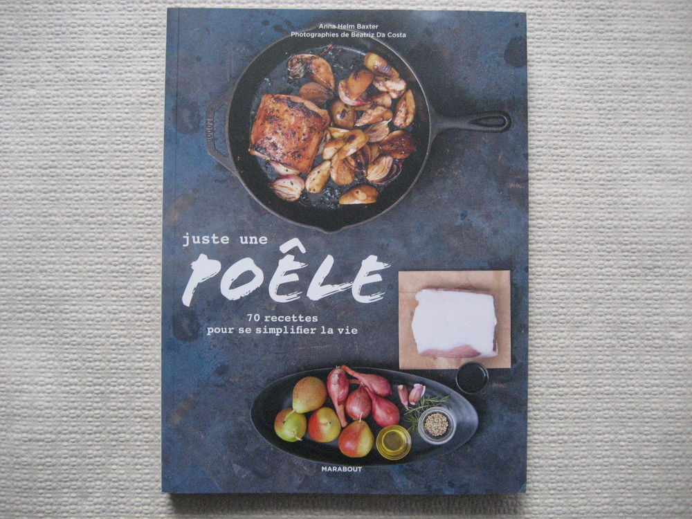 livre cuisine :   JUSTE UNE POELE   7 Reims (51)