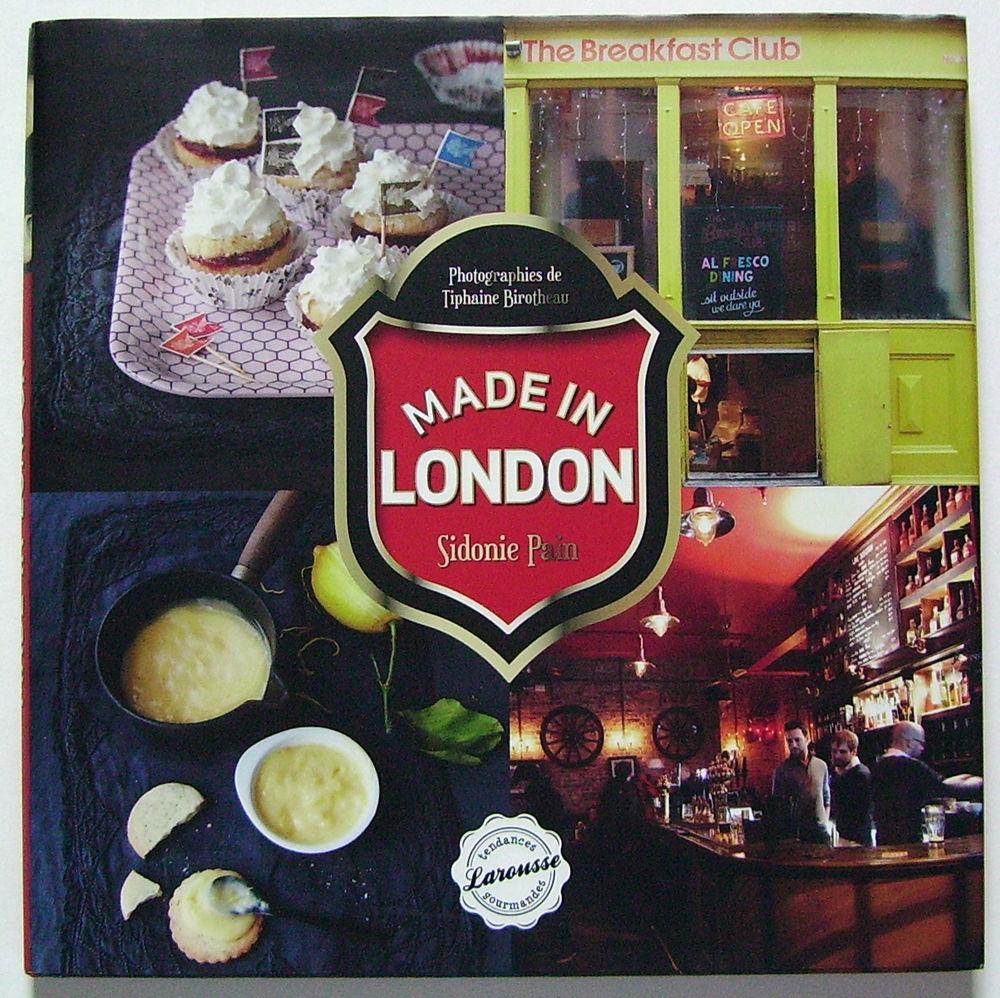 Livre de cuisine Made in London 3 Lille (59)