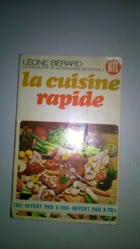 Livre La cuisine rapide Broché 1972 Bon etat Une cuisin 4 Talange (57)