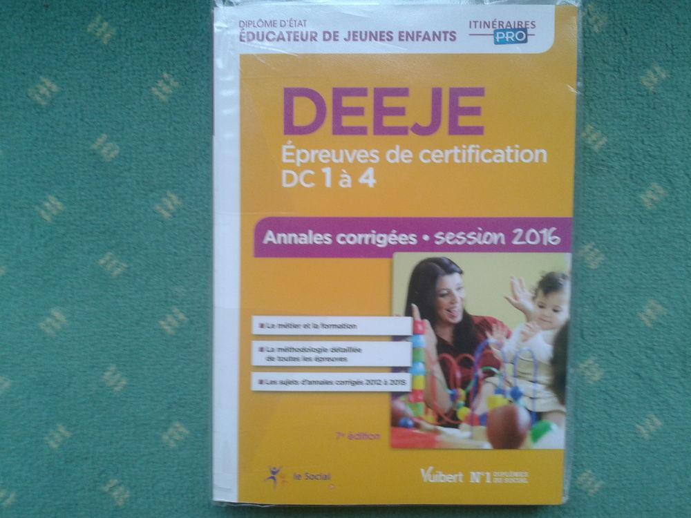 Livre = DEEJE - Épreuves De Certification DC 1 À 4 - Annales 15 Arques (62)