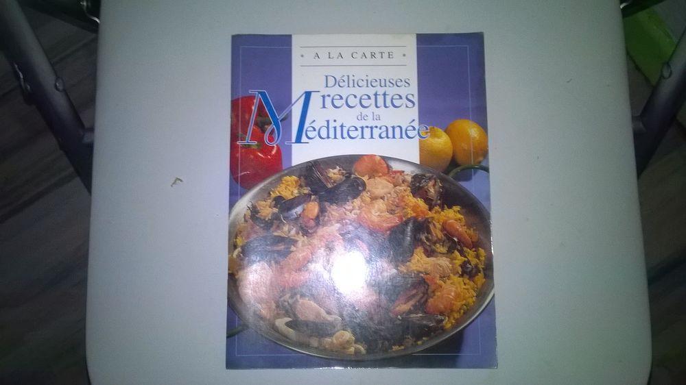 Livre DELICIEUSES RECETTES DE LA MEDITERRANEE 7 Talange (57)
