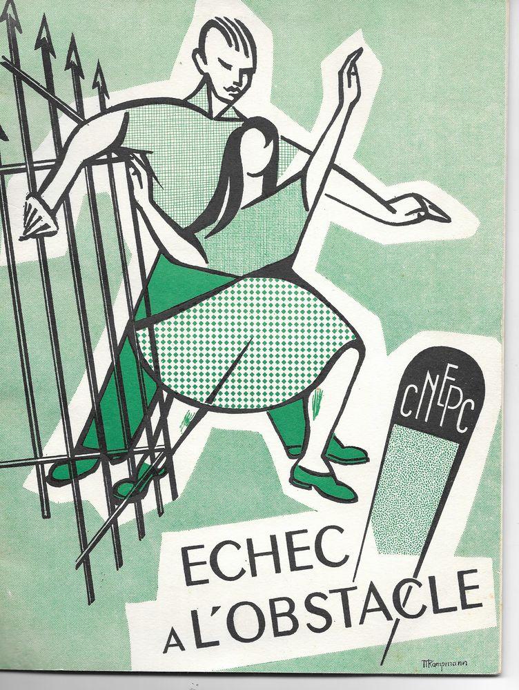 livre, Echec à l 'obstacle 1959/60 22 Tours (37)