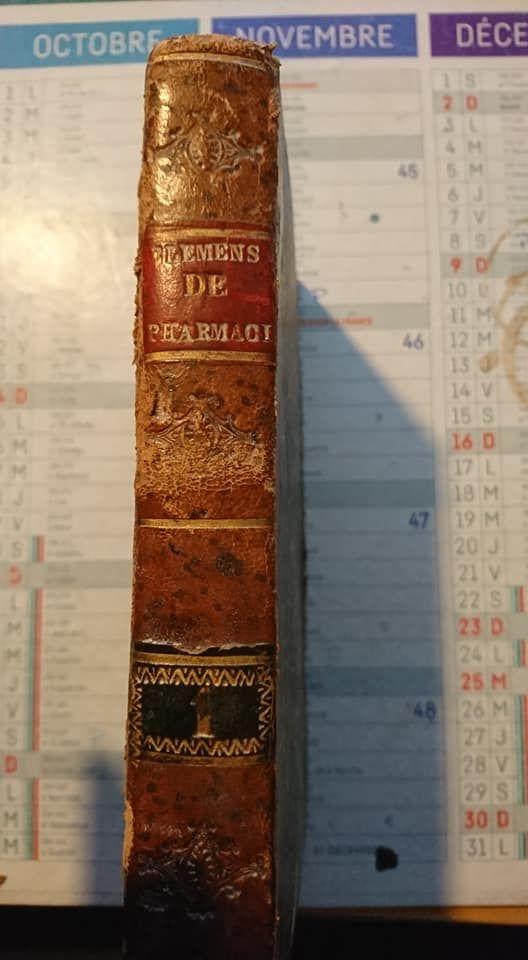 livre éléments de pharmacie de 1797 Livres et BD