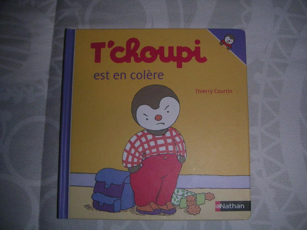 livre enfant bébé T'choupi est en colère 3 Durrenbach (67)
