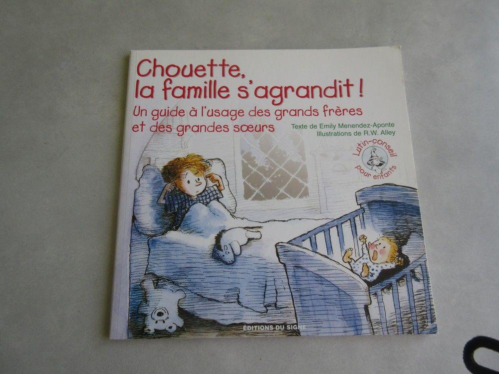 Livre enfant Chouette la famille s'agrandit 4 Jury (57)