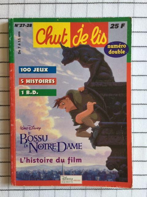 Livre enfant : CHUT JE LIS (Disney Hachette) 2 Saulx-les-Chartreux (91)