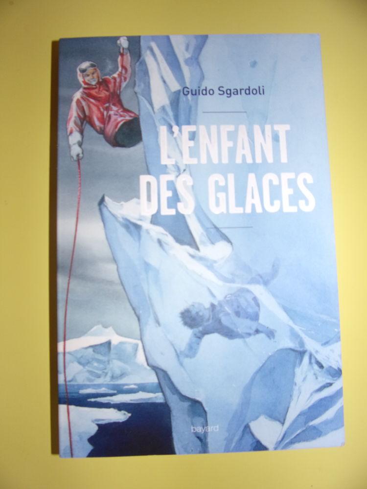 Livre  L'enfant des glaces  de Guido Sgardoli 2 Châtillon-en-Vendelais (35)