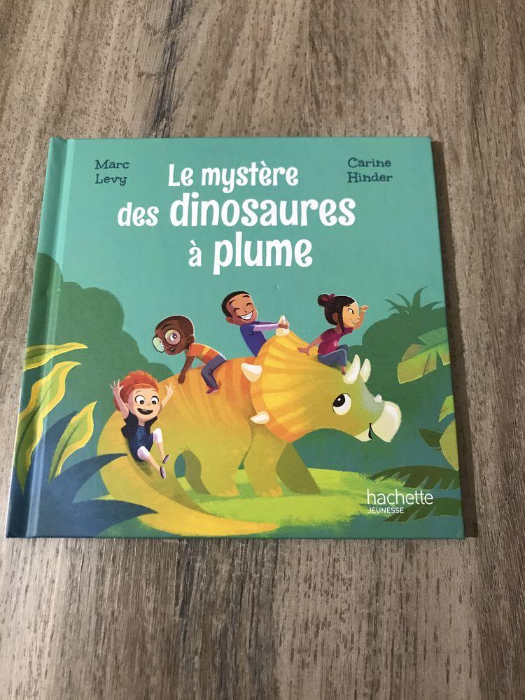 livre enfant   Le mystère des dinosaures à plume   3 Saleilles (66)