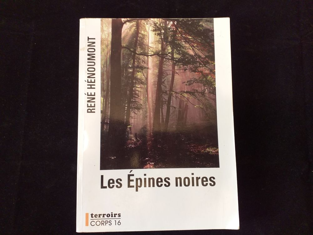 livre, Les épines noires  6 Tours (37)