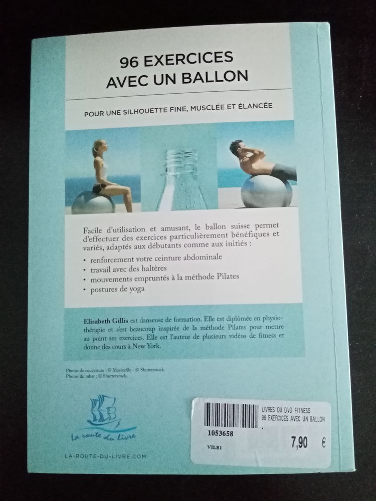 Livre 96 exercices avec un ballon 5 Dammarie-les-Lys (77)