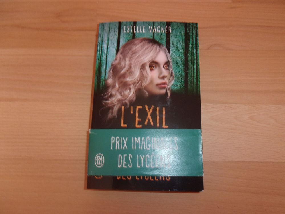 Livre  L'Exil  d'Estelle Vagner dédicacé (Neuf) 10 Ardoix (07)
