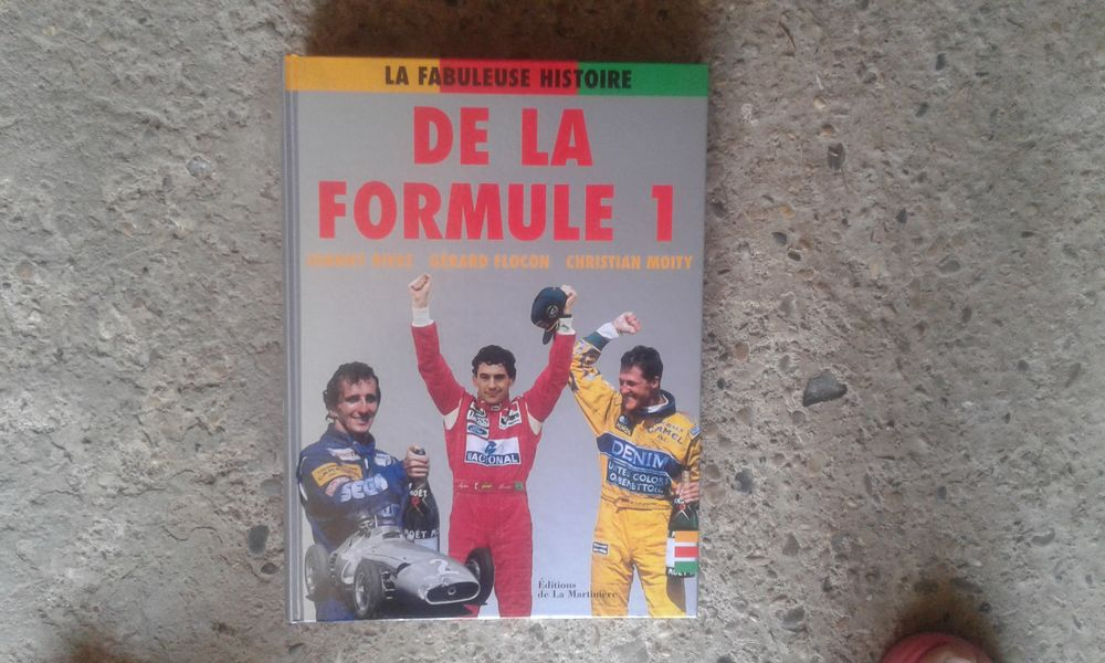 Livre La fabuleuse histoire de la formule 1 0 Meyzieu (69)