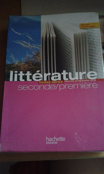 Livre De Francais 2nde Premiere