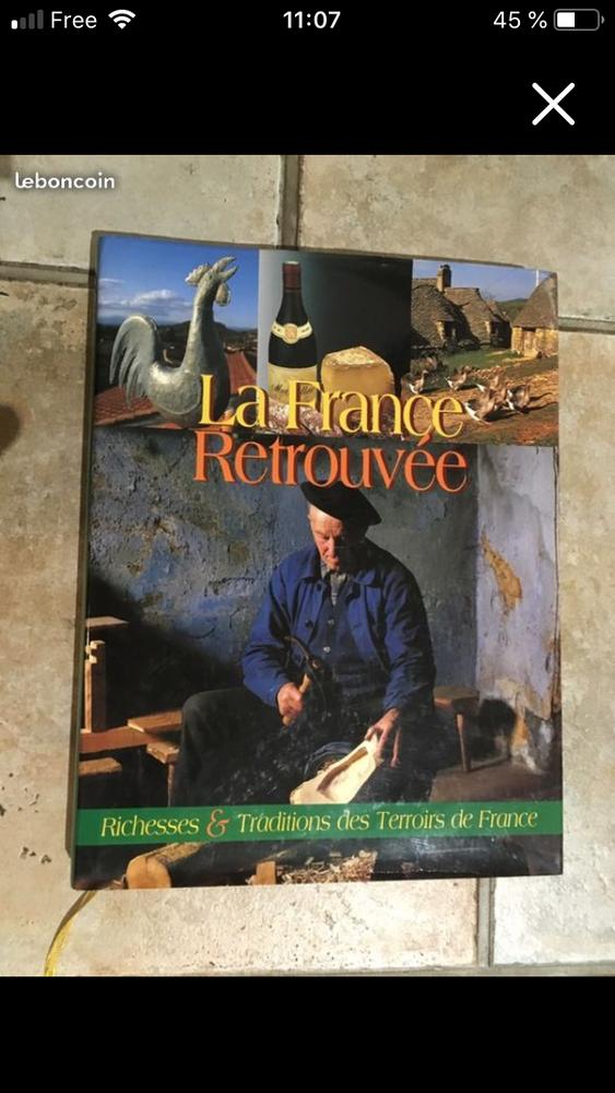 Livre la France retrouvée Livres et BD