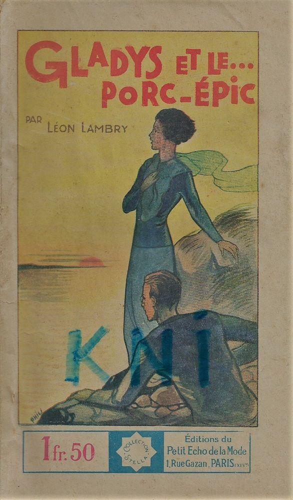 livre ,Gladys et le Porc -Epic 1936  11 Tours (37)