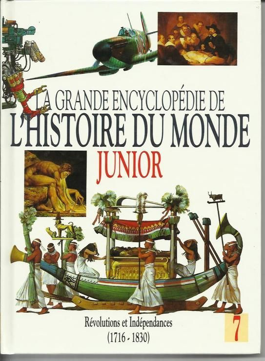 livre La grande encyclopédie de l'Histoire du monde junior,  5 Montlignon (95)