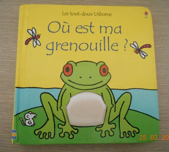 Livre  Où est ma grenouille   9 Mâcon (71)