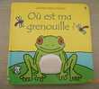 Livre 'Où est ma grenouille'
