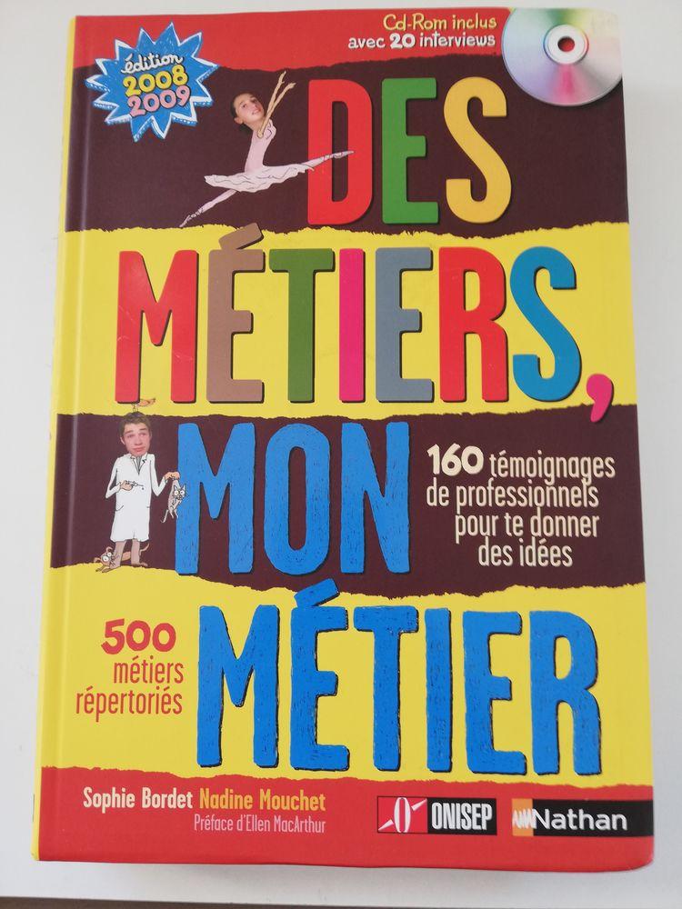 LIVRE GUIDE RECHERCHER UN MÉTIER - DÉCRITS 500 ---- NATHAN  9 Blanzat (63)