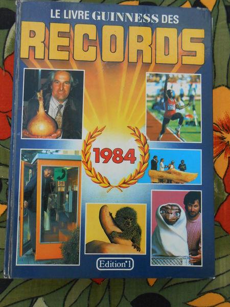 Le livre guinness des records 1984 4 Sathonay-Village (69)