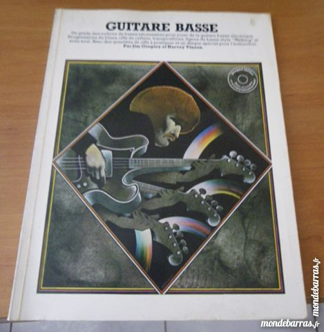 livre Guitare Basse Guide Des Notions De Bases 3 Neublans-Abergement (39)