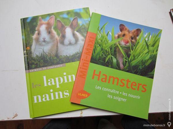 Livre sur hamsters/lapins nains Livres et BD