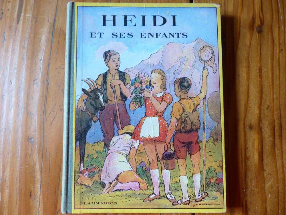Livre  Heidi et ses enfants  1949 15 Strasbourg (67)