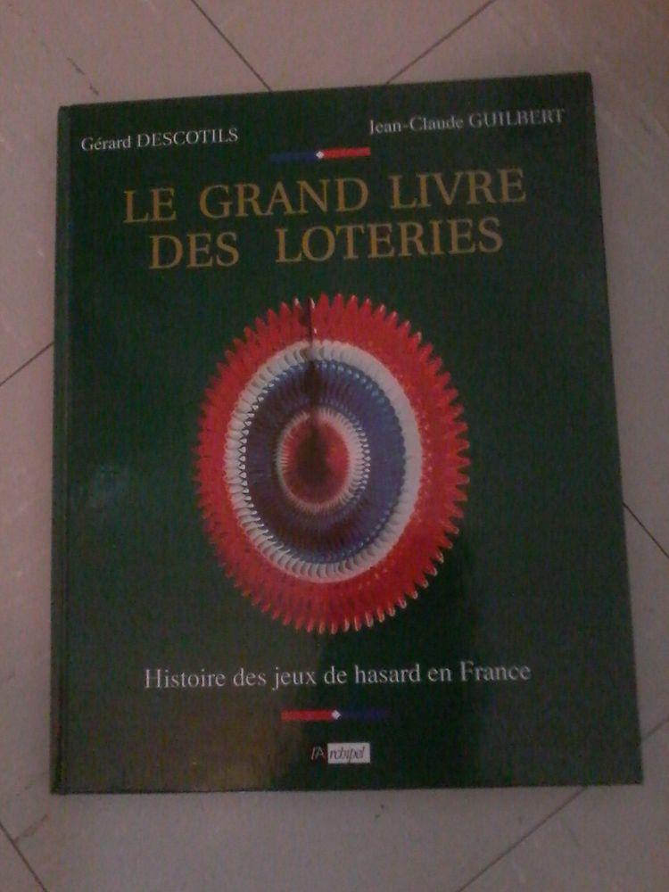 Livre histoire des jeux de hasard  20 Tourcoing (59)