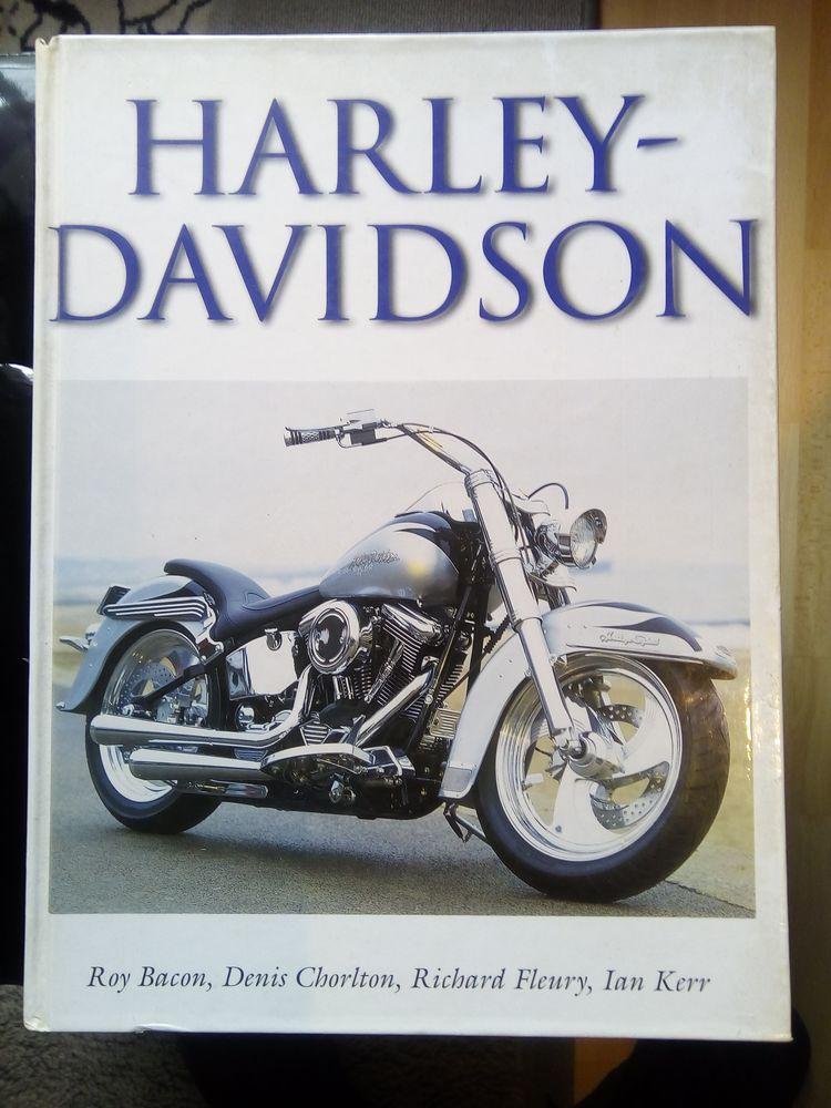 Livre d'histoire de la marque Harley Davidson 25 Pontault-Combault (77)