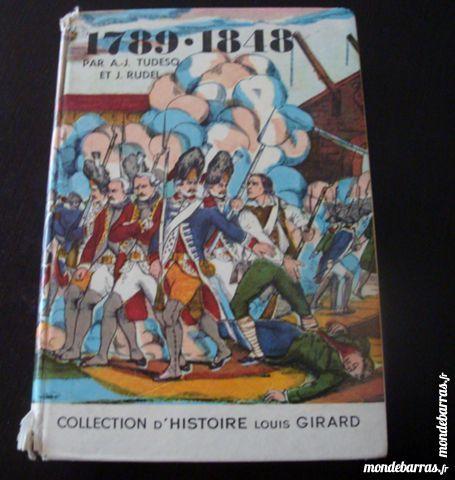 Livre d'histoire période 1789-1848 Livres et BD