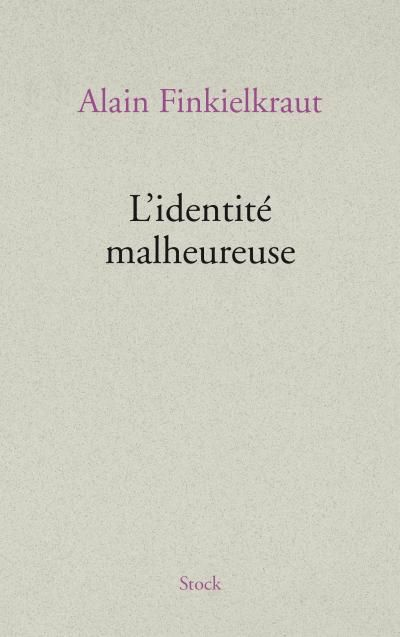LIVRE L'IDENTITÉ MALHEUREUSE 10 Saint-Maur-des-Fossés (94)