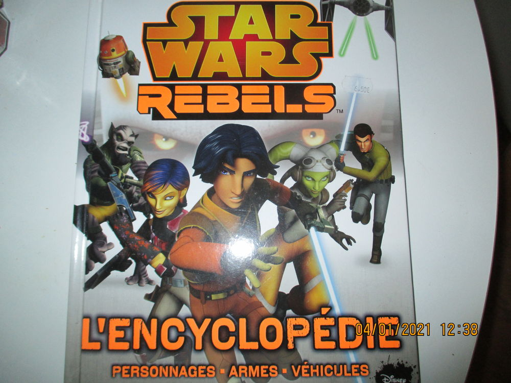 Livre illustré : encyclopédie Star Wars Rebels 7 Lyon 9 (69)