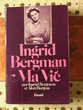 Livre d'Ingrig Bergman 'Ma Vie'