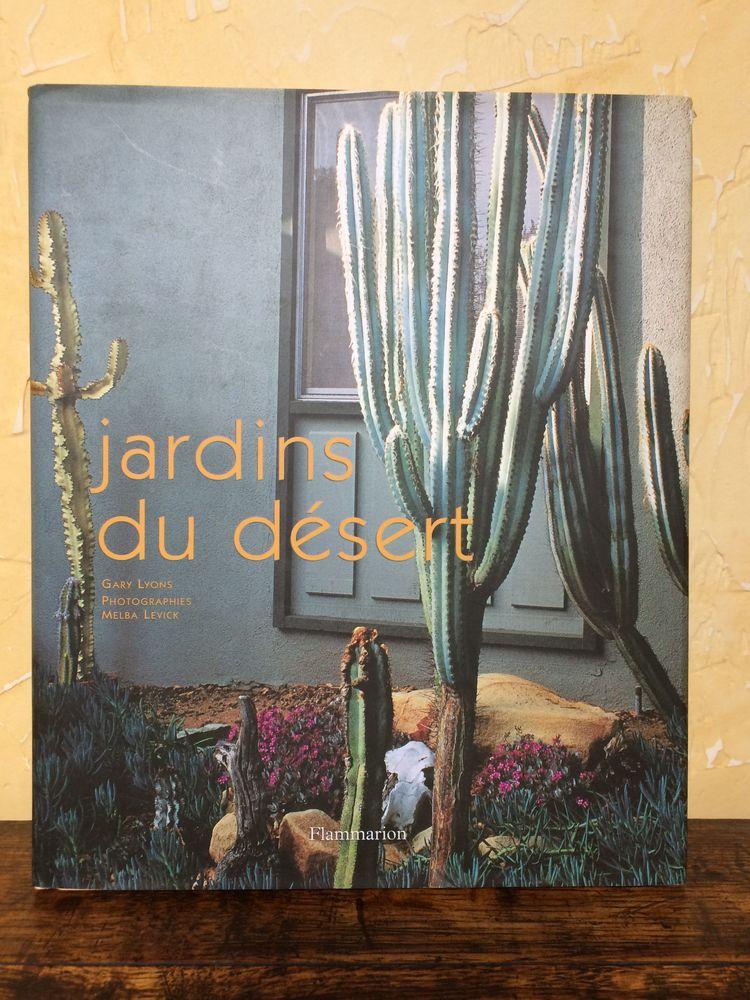 livre Jardins du desert de Gary Lyons Livres et BD