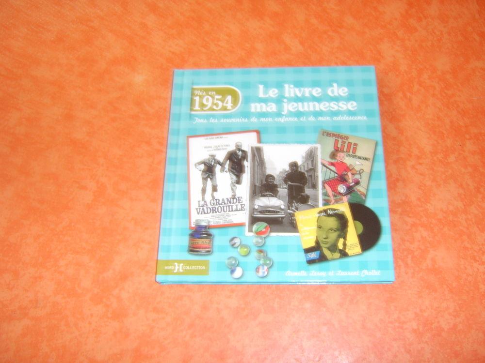 Le livre de ma jeunesse Nés en 1954 8 Romagnat (63)
