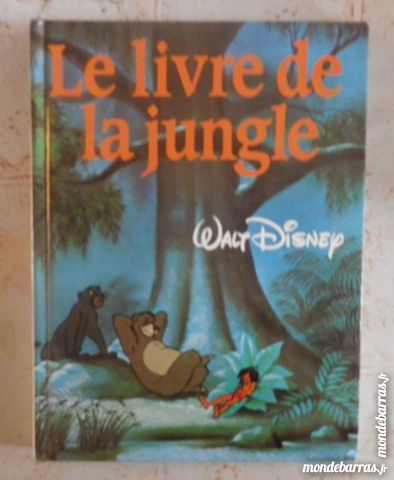 Le Livre De La Jungle Disney France Loisirs