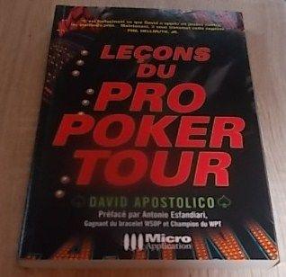 Livre : Leçons du Pro Poker Tour 10 Salignac (33)