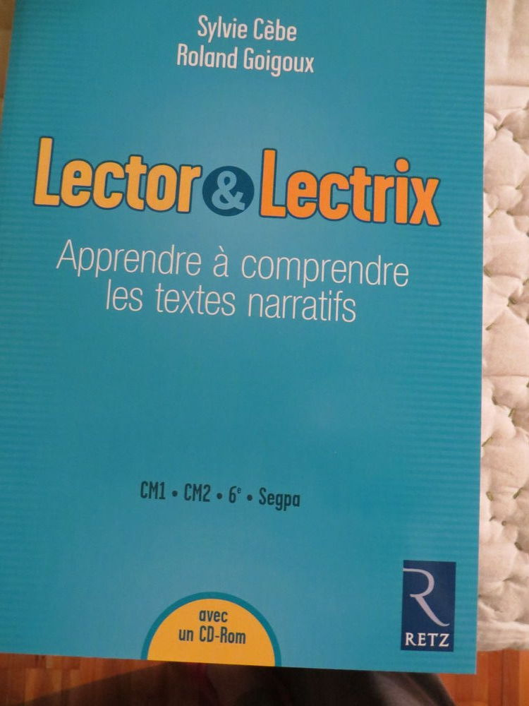 Livre  Lector Lectrix   Education Nationale 70 Laon (02)